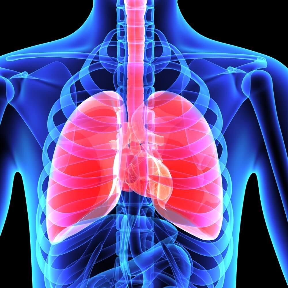nowotwór płuc maintrac badanie